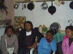 Ai são a do Nenê, Aulalia, Karina e Roberta Associação Chacara do Banco