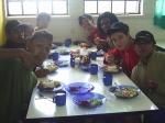 Nos no Almoço Cozinha ComunitÁria da RESTINGA 5-9-09