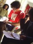Programa Juventude em Foco Douglas, Clauber e Andréia
