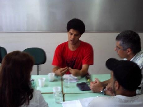 Reunião da  Micro - Rede Processo educação Popular e JuventuDe FLD