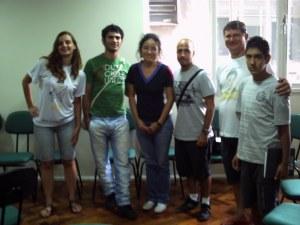 Reunião da equipe que vai contruir o Livro Fase SAAP E FLD